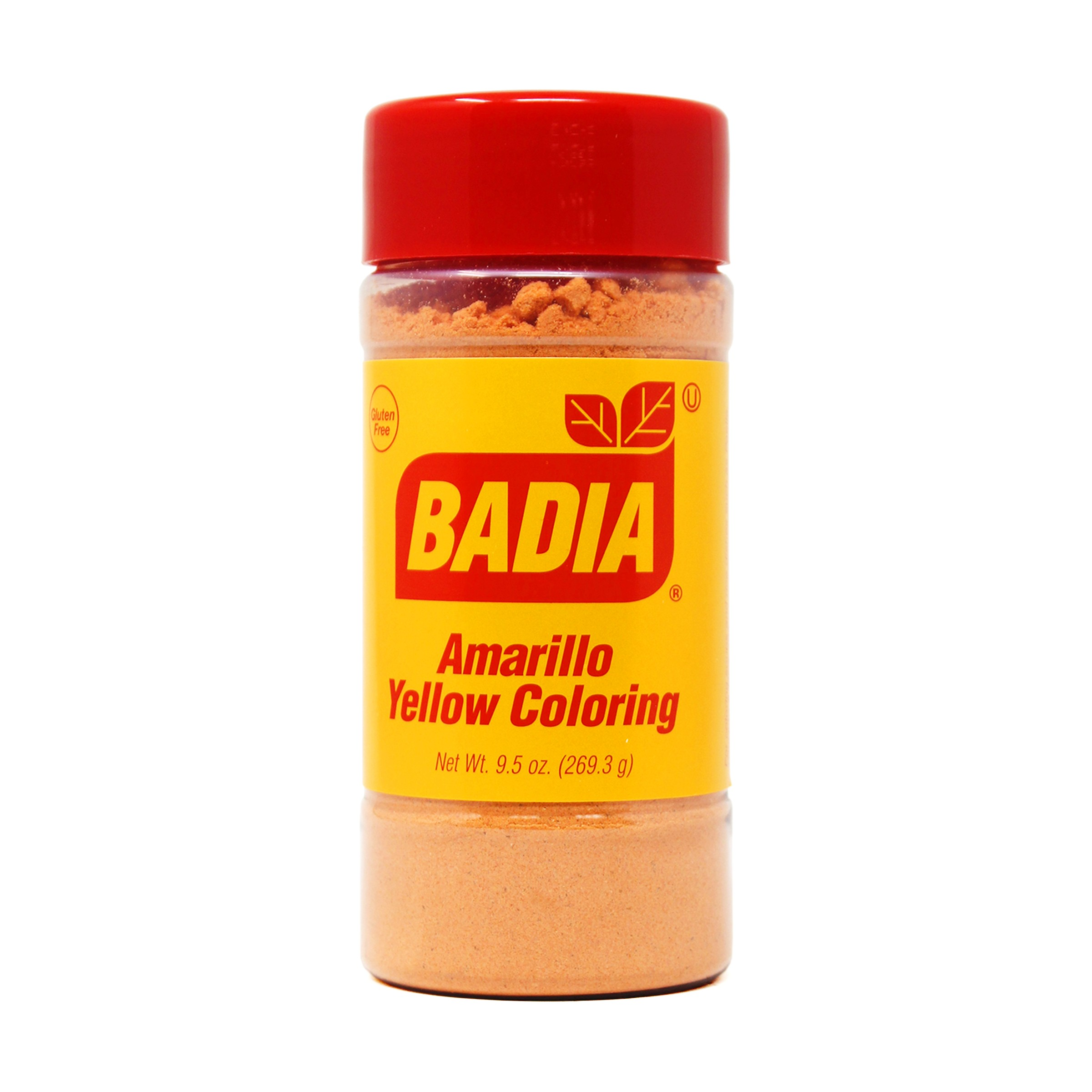 Yellow Coloring/Amarillo (economy) - 9.5 oz - Badia Spices